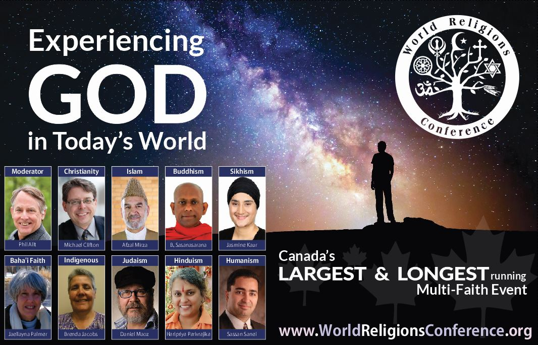 38th World Religions Conference @ Humanities Theatre, Hagey Hall  | Waterloo | Ontario | Canada